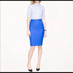 J. Crew Ftry No. 2 Pencil Skirt Size 00
